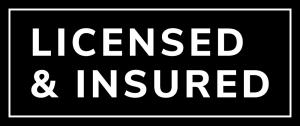 Licensed & Insured logo